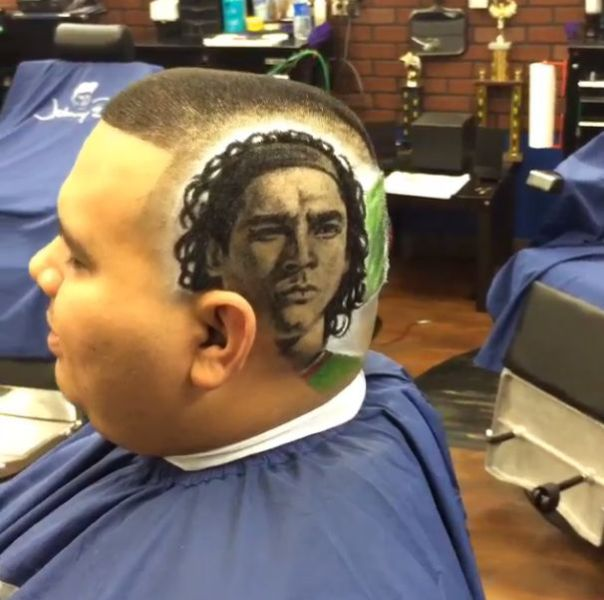 The Artsy Barber who Gives the Coolest Haircuts