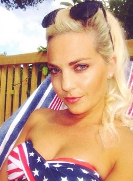 USA Ladies Show Their Patriotism Through Their Boobs