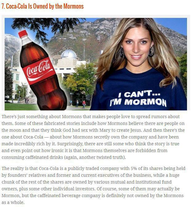 Coca-Cola Facts That Are Actually Total Myths