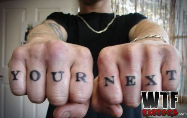 Tattoos That Are So Bad You Have to Just Say WTF?