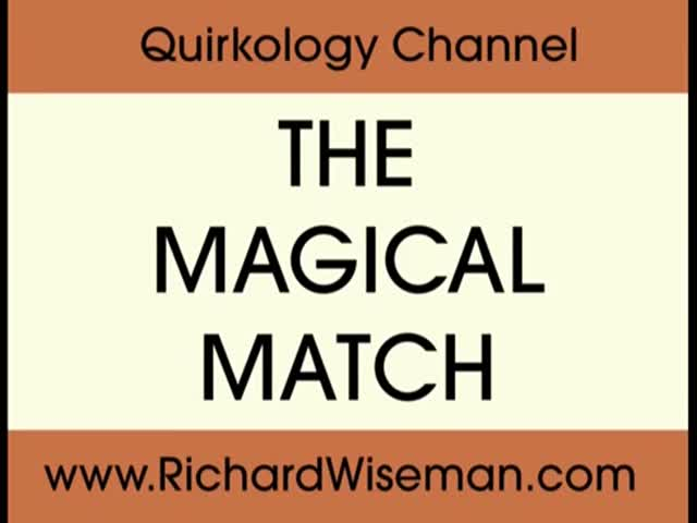 A Sneakily Smart Match Trick
