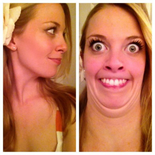 Cute Girls Making Fugly Faces