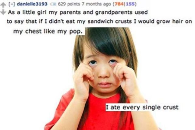 Parents Tell Their Kids These Funny Lies