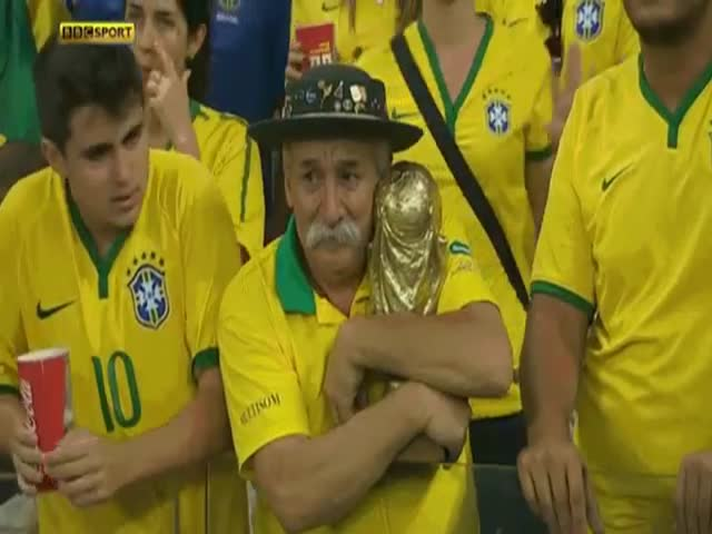 The Saddest Man of the World Cup  (VIDEO)