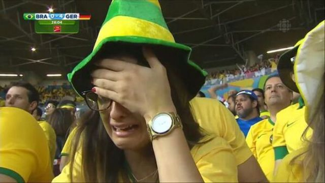 Brazil's World Cup Fans Break Down at Team's Loss