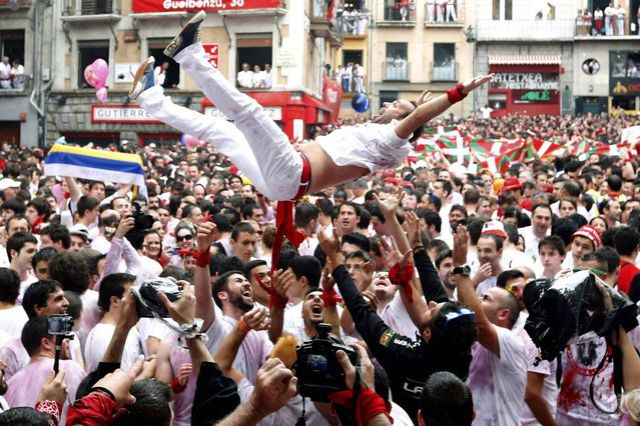 Fun and Craziness at the Annual Street Festival in Spain