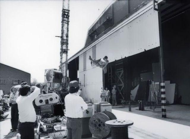 Backstage on Iconic Film Sets