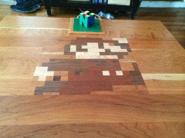 DIY Nintendo Table