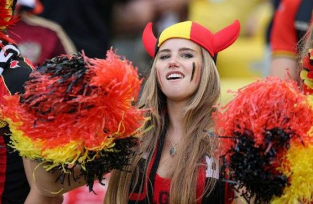 World Cup Supporter Gets Offered a Modelling Contract