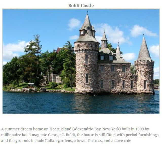 The USA's Real Medieval Castles