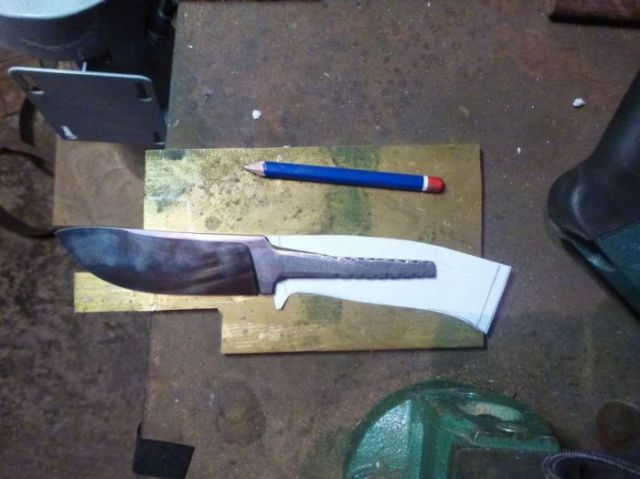A DIY Custom Made Knife