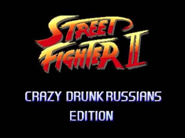 Crazy Drunk Russians - Street Fighter II Style  (VIDEO)