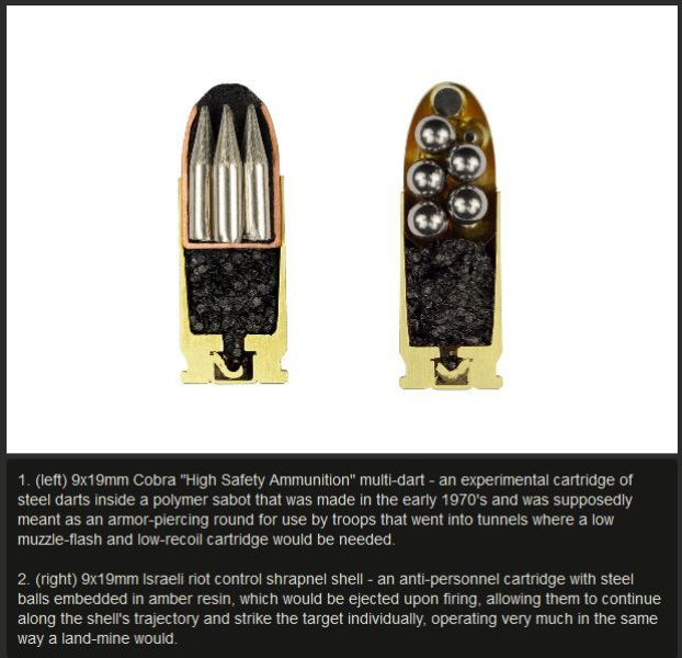 A Revealing Look at the Inside of Different Bullets