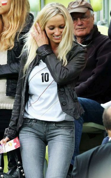 Gorgeous German Football WAGs