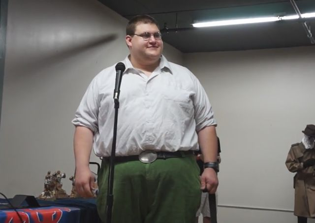 Peter Griffin in Real Life!