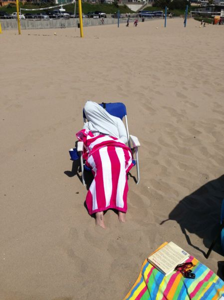 The Beach Is Not A Good Fit for People Like This…
