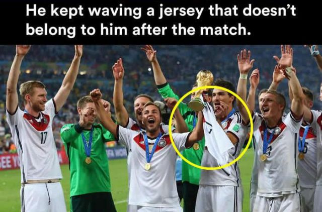 The Story Behind Mario Gotze's Mystery Jersey