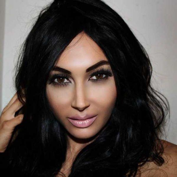 A Kim Kardashian Wannabe who Lives Life Like the Star