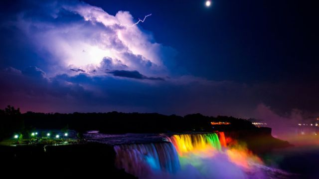 Nature Is Spectacular and Powerful