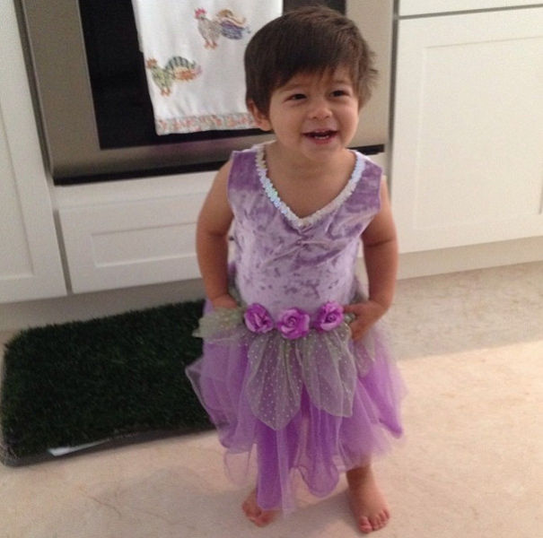 The Two Year Old Cross Dresser Whose Parents Approve