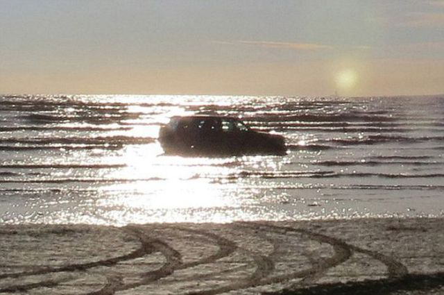 Cars and Beaches Just Don't Mix Well