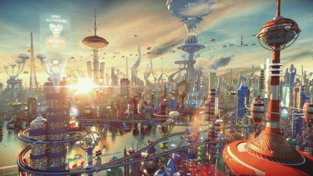 Futurama in 3D Looks Stunning