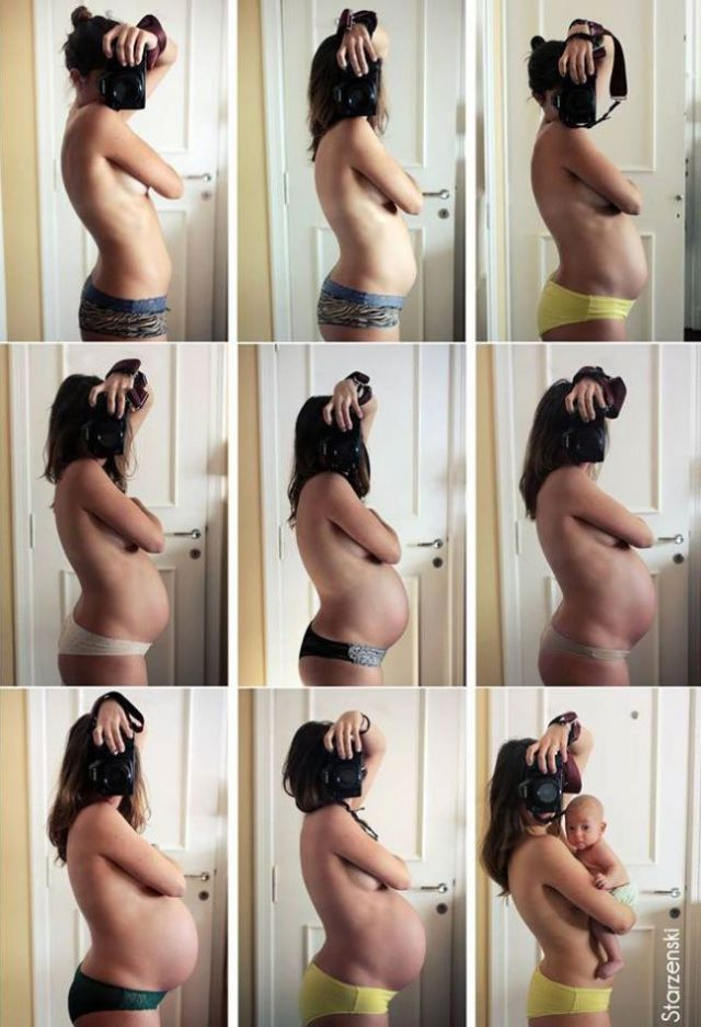 Fun Ways to Show Pregnancy and Birth