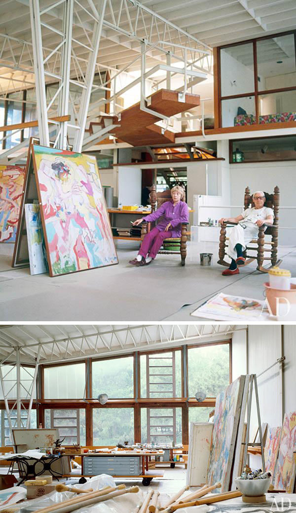 Workspaces of Some of the Greatest Creative Minds