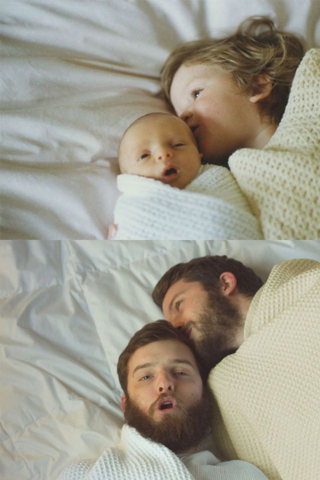 Funny Recreations by Adults of Their Best Old Family Photos