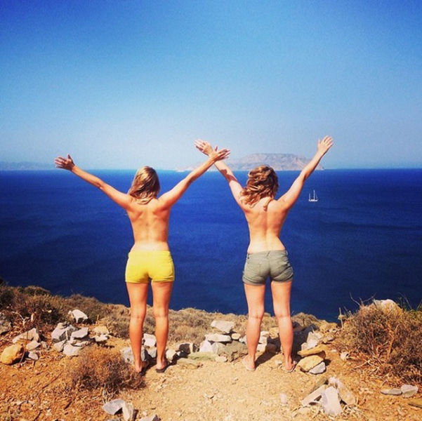 Travel Photos Are Reinvented with the New Topless Twist