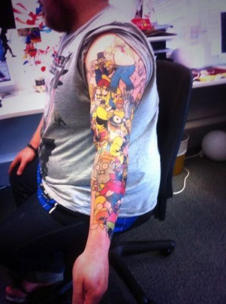 A Homer Simpson Fan Who Took His Obsession Overboard