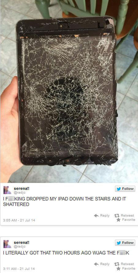 An iPad Fail That's Really Shattering