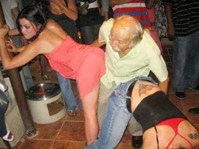 Elderly People Who Have Never Stopped Partying