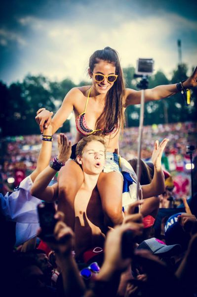 Ladies of Tomorrowland 2014