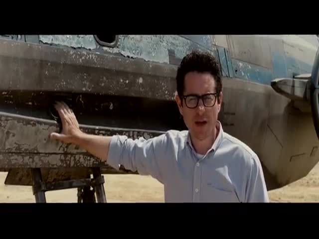 J.J. Abrams Shows Off a New X-Wing Fighter from the set of Star Wars: Episode VII  (VIDEO)