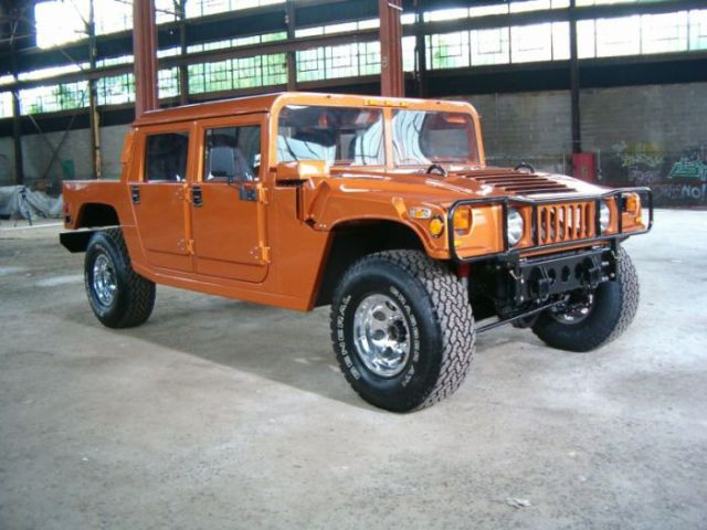 An Old Ford F-150 Pick Up Truck Transformed into a Kick Ass Hummer