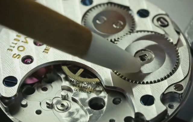 The Beautiful Work of Precision of a Watchmaker