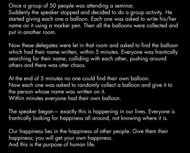 The Poignant Life Lesson That a Balloon Filled Room Can Teach Us