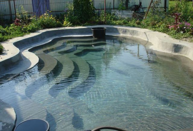 A Homebuilt Swimming Pool That's Pretty Awesome