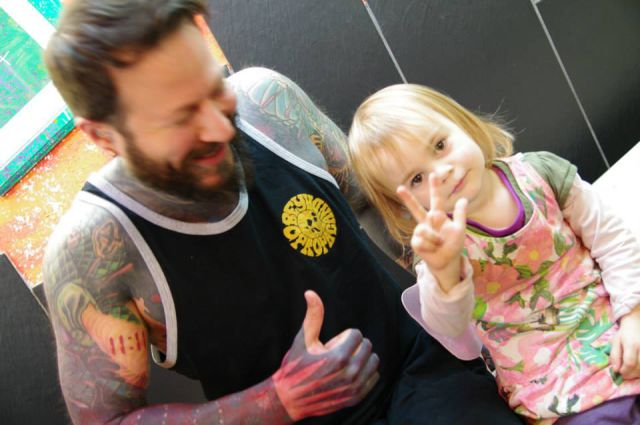 The Youngest Tattoo Artist in the World