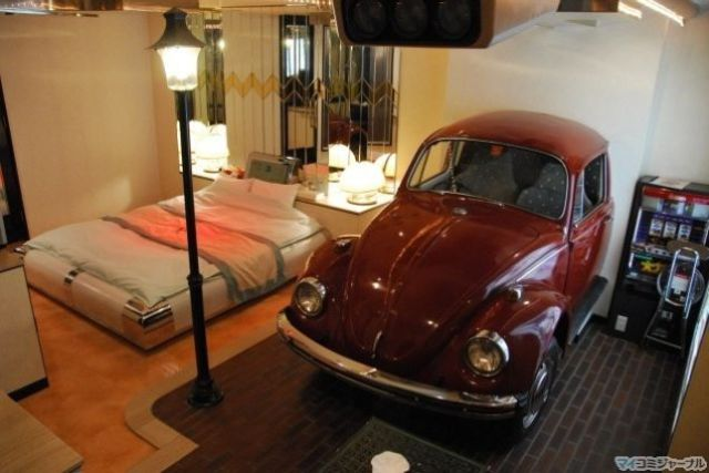 What a Japanese Love Hotel Really Looks Like