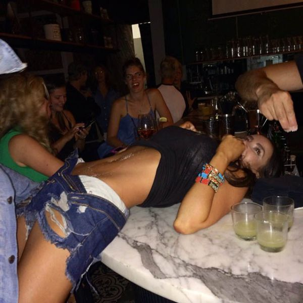 A Bodyshot Is the Best Way to Drink Tequila