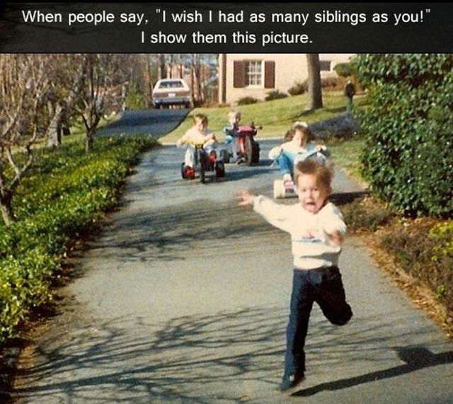 Sibling Rivalry at Its Best