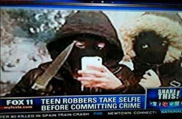 Times That Really Do Not Call for a Selfie