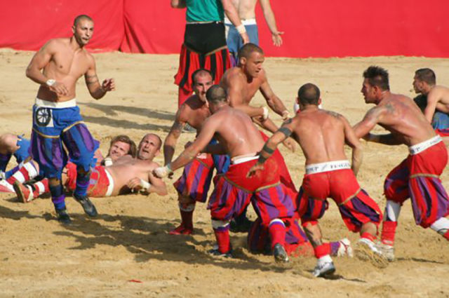 Calcio Fiorentino Is Not a Sport for the Faint-Hearted