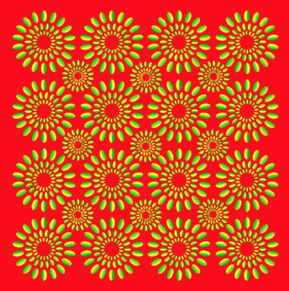 Hypnotizing Optical Illusions