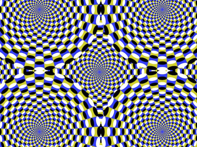 Hypnotizing Optical Illusions