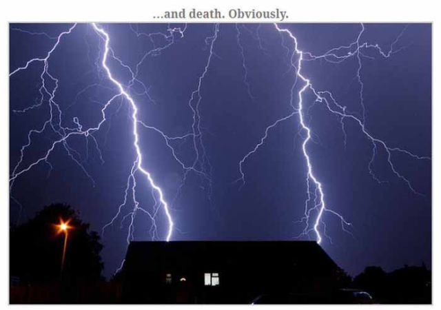 This Is What Really Happens When a Person Gets Struck by Lightning