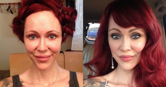 Mind-Blowing Before and After Pictures of Makeup Makeovers