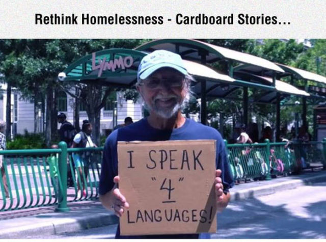 The Side to Homeless People That You Would Never Know
